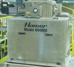 Hamer's Net Weigh Scale with Exlar's Tritex II AC rotary actuator.