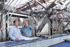 Wittenstein and Multivac team
