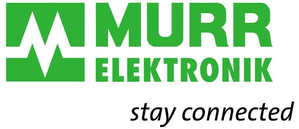 Murrelektronik logo with tag