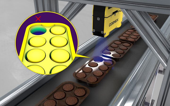 Cookie-packaging-Cognex 3D Inspection